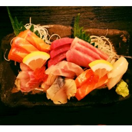 Sashimi variés (15 tranches)